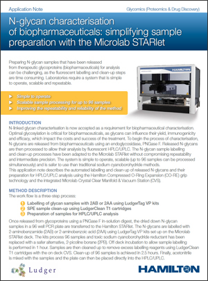 pdf application 												            note on sample prep with Hamilton Microlab STARlet