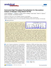 Ludger Publication - Permethylation - Analytical Chemistry